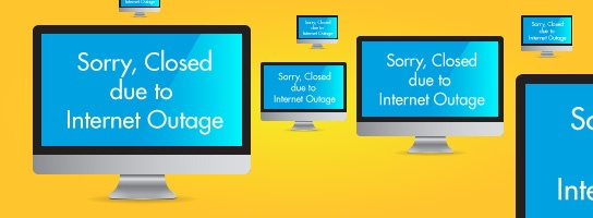 Financial Impact of an Internet Outage